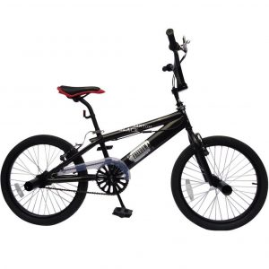Bici BMX con cuadro de acero