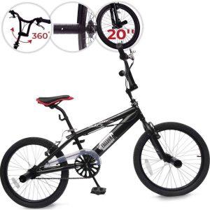 Bici BMX con freno en V
