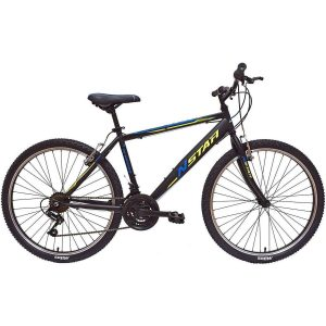 Bici de montaña con frenos en V