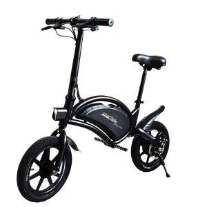 Bicicleta eléctrica plegable con batería de litio