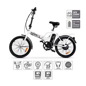 Bicicleta eléctrica plegable Nilox