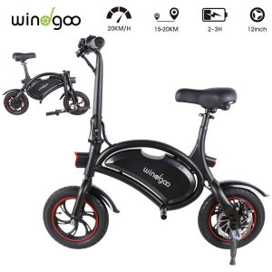 Bicicleta eléctrica plegable urbana