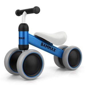 Bicicleta sin pedales de acero inoxidable