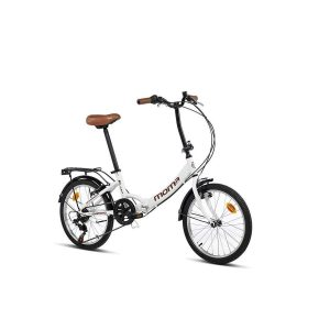 Bicicleta urbana con sillín confortable