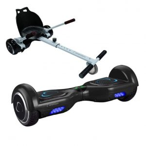 Hoverboard con silla antipinchazos