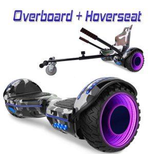 Hoverboard con silla con altavoces