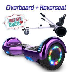 Hoverboard con silla de diseño