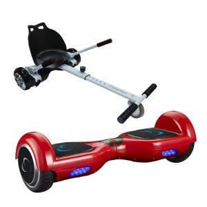 Hoverboard con silla go Kart