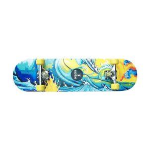 Monopatin estilo surfero