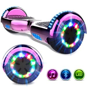 Patinete eléctrico hoverboard con luces led