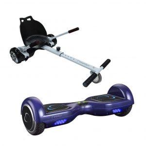 Patinete eléctrico hoverboard go kart pack