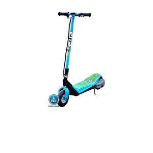 Patinete eléctrico para niños azul brillante
