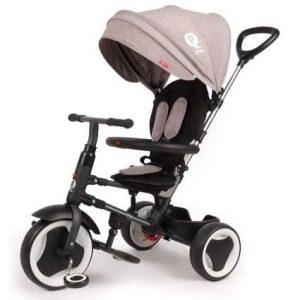 Triciclo de bebé plegable Qplay
