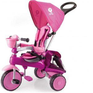 Triciclo evolutivo rosa